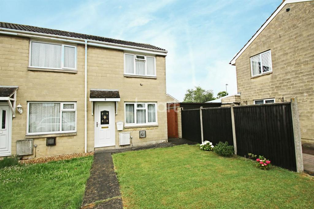 1 Bedroom End Of Terrace House for sale in Elmgrove Close, Bridgwater