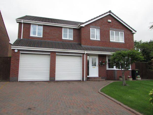 5 Bedrooms Detached House for sale in HOLINDALE, SPENNYMOOR, SPENNYMOOR DISTRICT