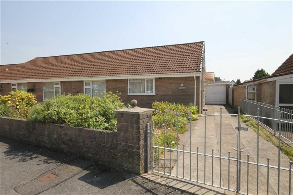 2 Bedrooms Semi Detached Bungalow for sale in Ty Llwyd Parc, Quakers Yard, CF46