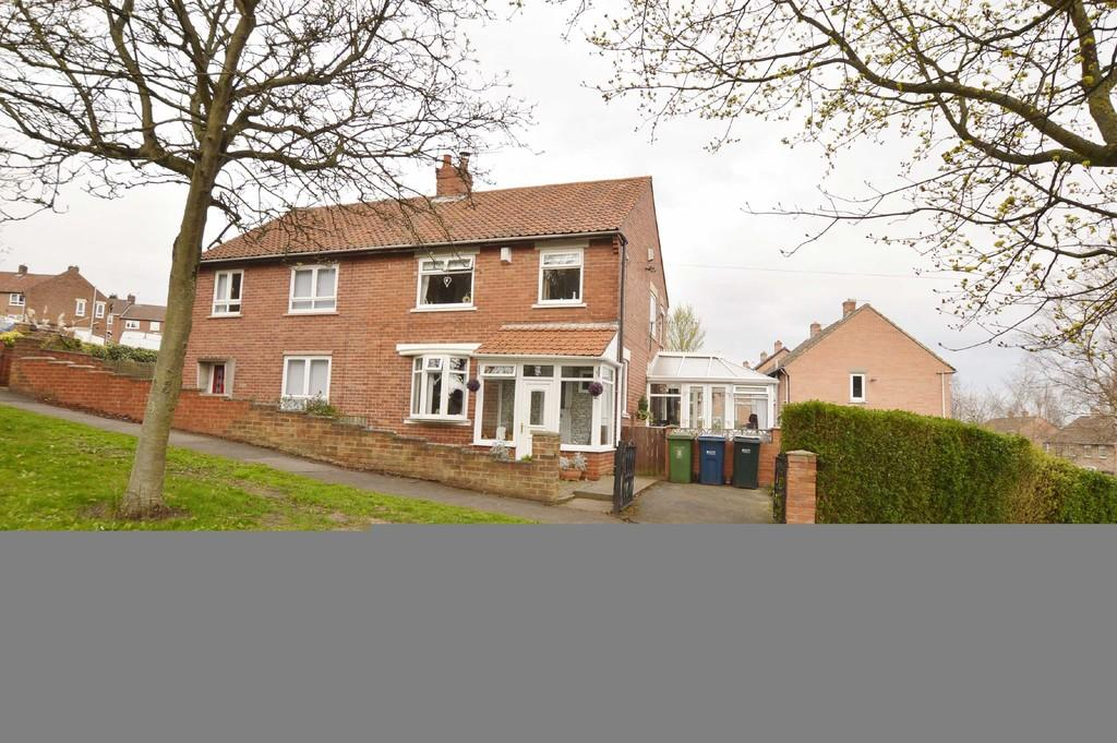 3 Bedrooms Semi Detached House for sale in Shibdon Bank, Blaydon