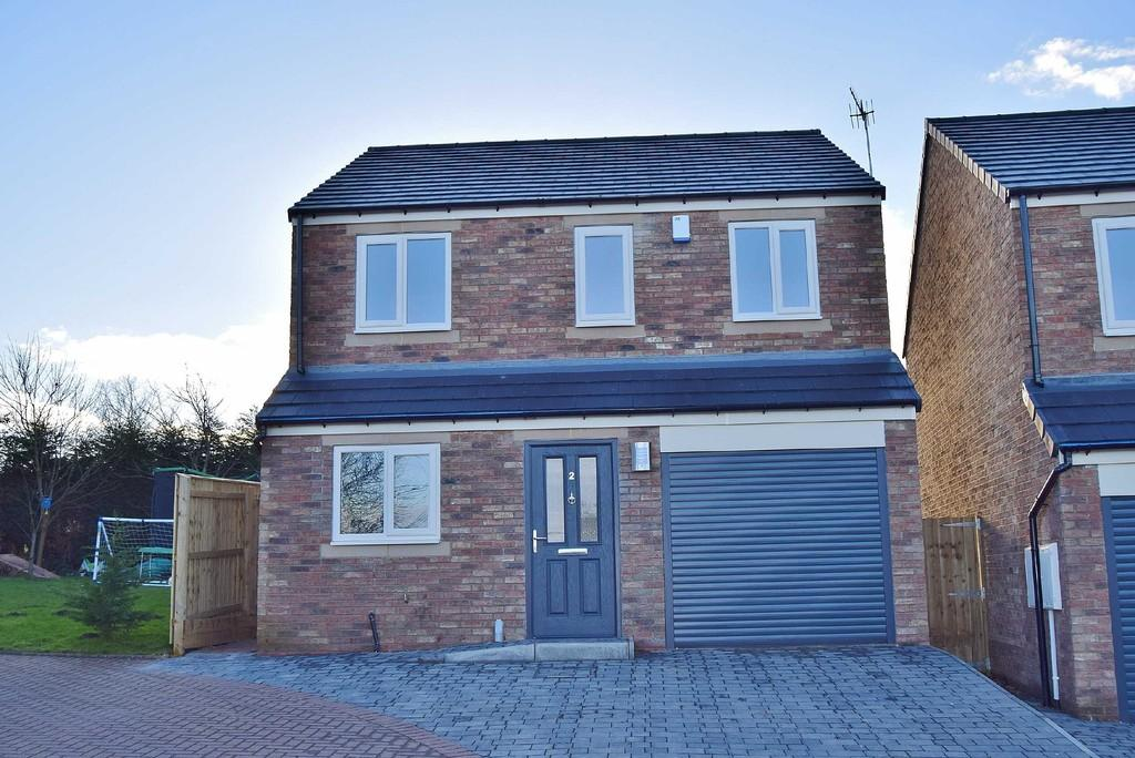 3 Bedrooms Detached House for sale in Edgewell Court, Prudhoe