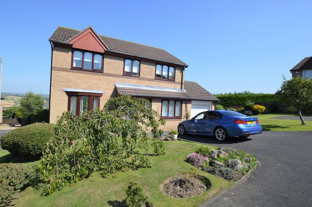 4 Bedrooms Detached House for sale in Broomwood Court, Prudhoe