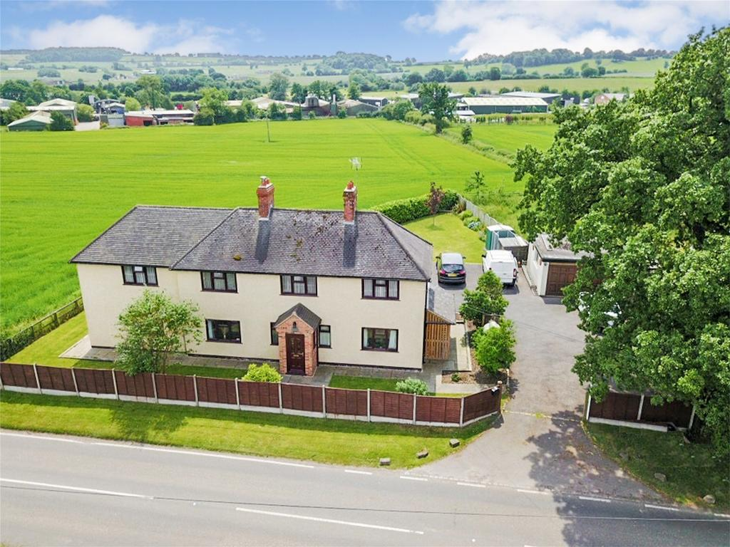 4 Bedrooms Detached House for sale in Spring Farm Cottage, Stone Road, Bramshall, Uttoxeter