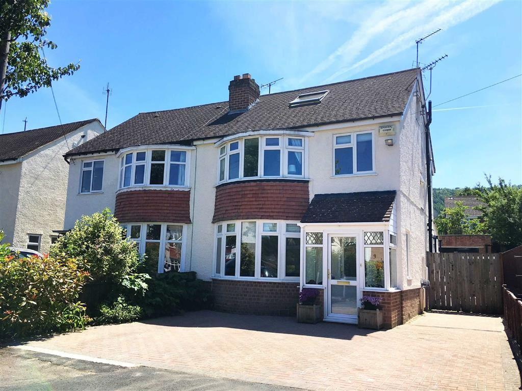 5 Bedrooms Semi Detached House for sale in Chatsworth Drive, Leckhampton, Cheltenham, GL53