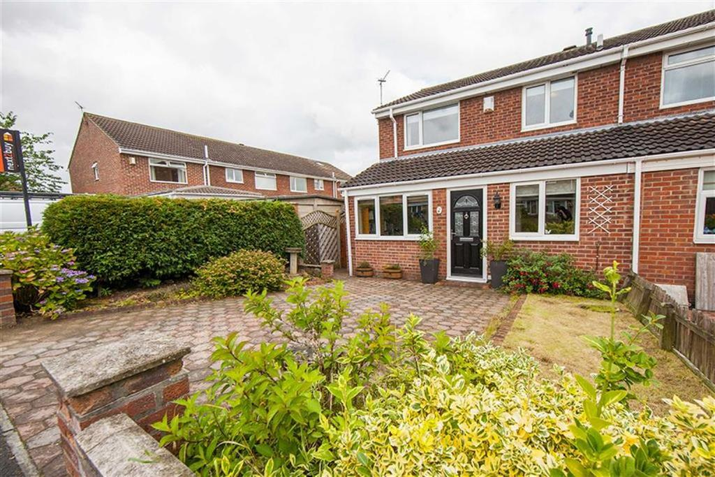 3 Bedrooms Semi Detached House for sale in Wensleydale, Hadrian Lodge West, Wallsend, NE28