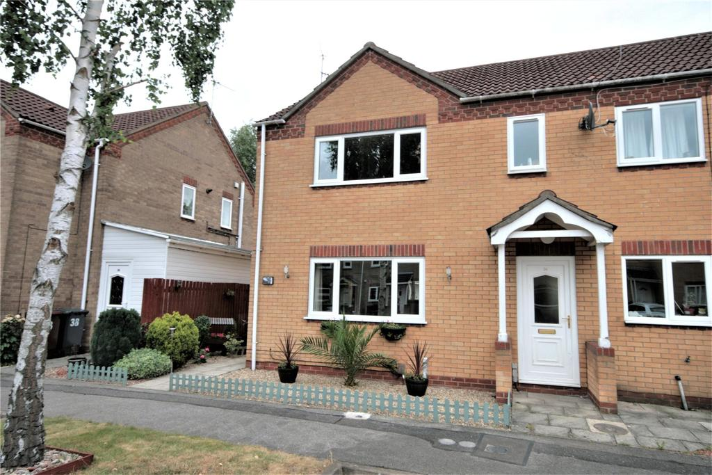 2 Bedrooms End Of Terrace House for sale in Sixfield Close, Lincoln, LN6