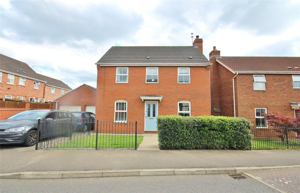 3 Bedrooms Detached House for sale in Mitchell Drive, Lincoln, LN1