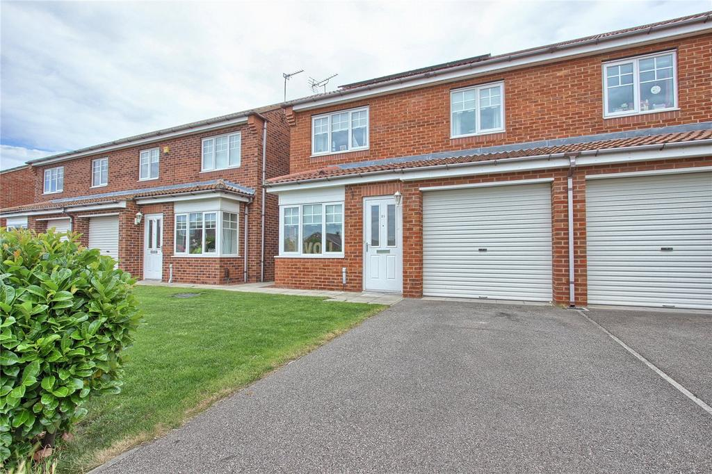 3 Bedrooms Semi Detached House for sale in Hambleton Avenue, Redcar