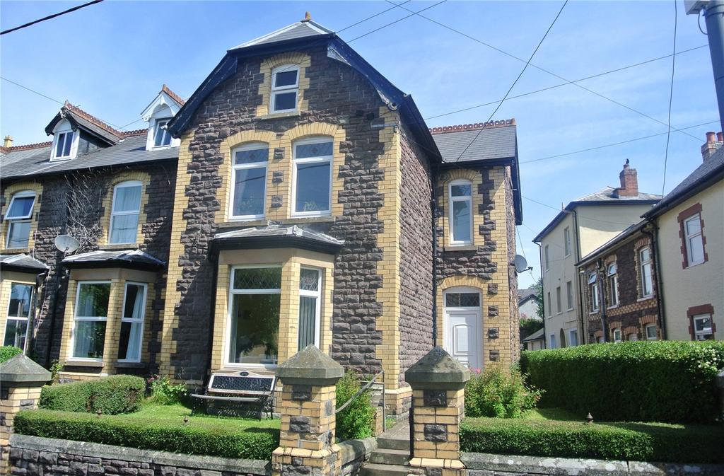 5 Bedrooms End Of Terrace House for sale in Gwynfe Terrace, The Avenue, Brecon, Powys