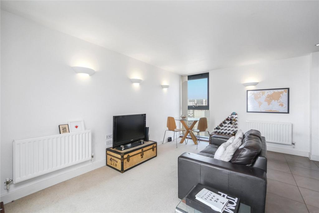 2 Bedrooms Flat for sale in Neutron Tower, Blackwall Way, London, E14