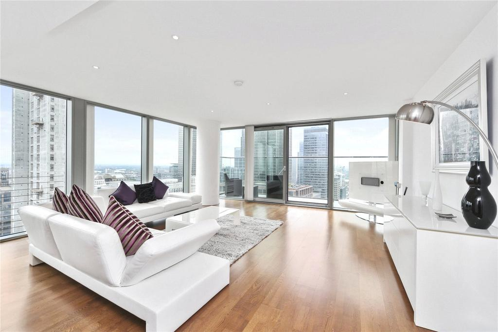 3 Bedrooms Penthouse Flat for sale in Landmark West, 22 Marsh Wall, London, E14