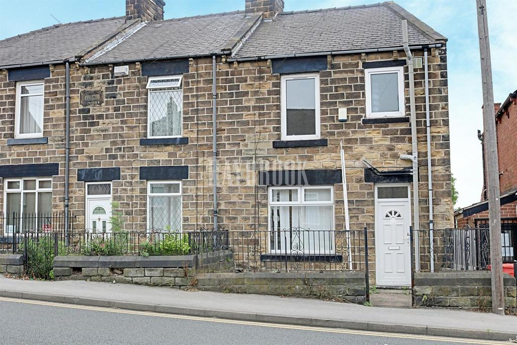 2 Bedrooms End Of Terrace House for sale in Park Road, Worsbrough