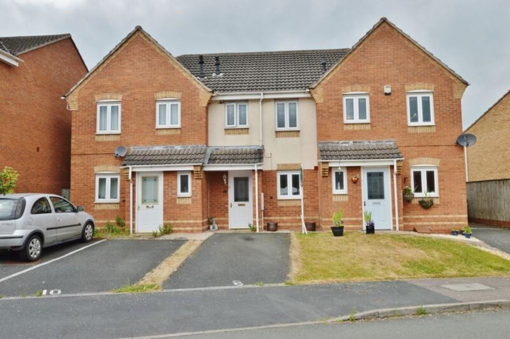 2 Bedrooms Terraced House for sale in Canterbury Drive, Rugeley