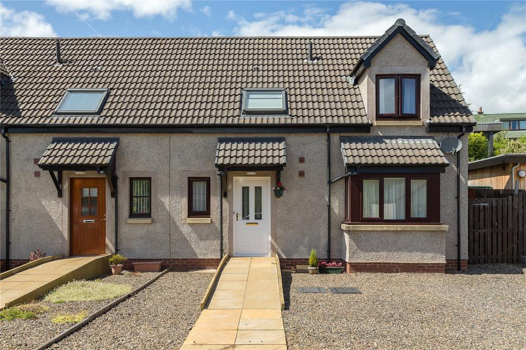 3 Bedrooms Semi Detached House for sale in Eildon Crescent, Melrose, Scottish Borders