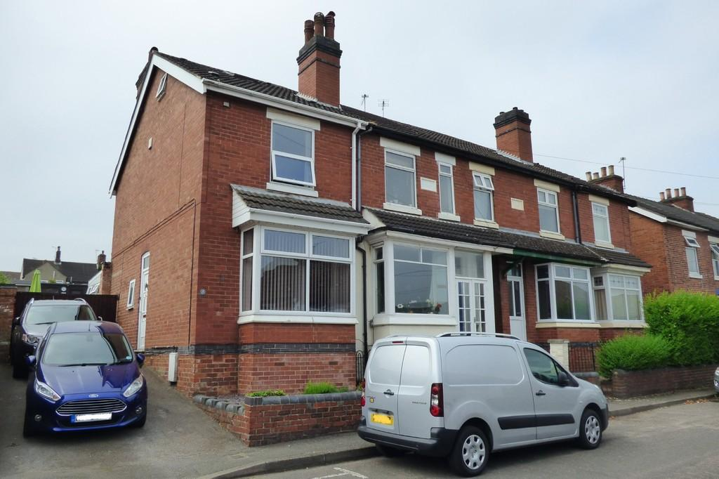3 Bedrooms End Of Terrace House for sale in Highfield Street, Swadlincote
