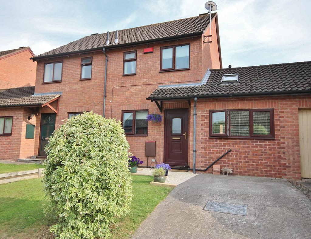 3 Bedrooms Semi Detached House for sale in Thistledown Grove, Hampton Dene, Hereford, HR1