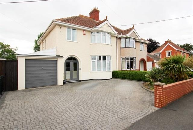 3 Bedrooms Semi Detached House for sale in Oakfield Road, Bridgwater