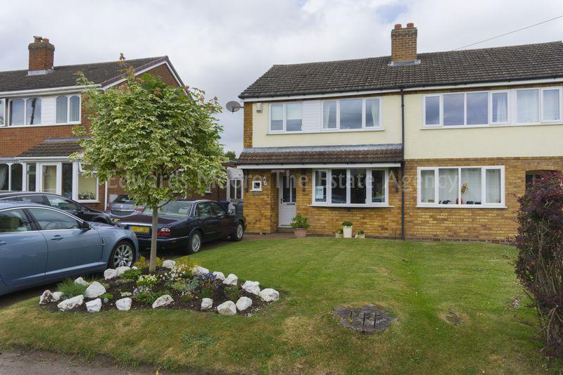 4 Bedrooms Semi Detached House for sale in Main Street, Stonnall, Walsall