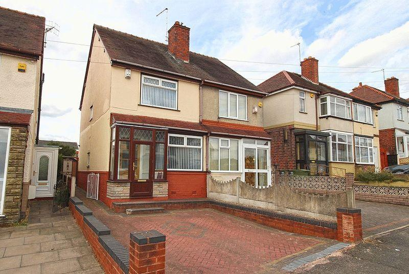 2 Bedrooms Semi Detached House for sale in Cradley Road, DUDLEY