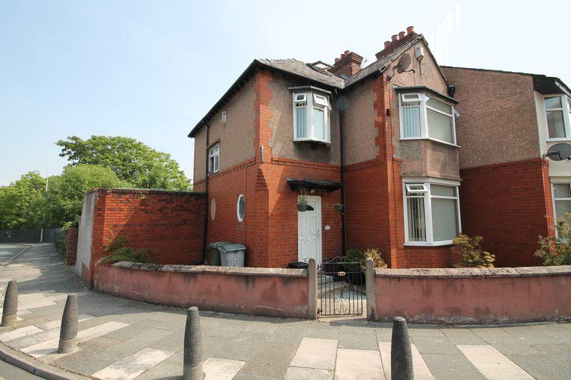 3 Bedrooms End Of Terrace House for sale in Hinderton Road, Birkenhead