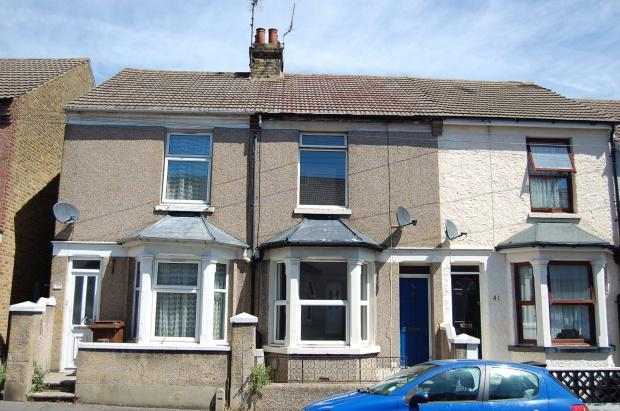 3 Bedrooms Terraced House for sale in Hamilton Road, Gillingham, ME7