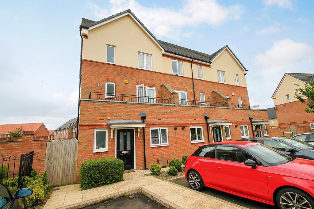 2 Bedrooms End Of Terrace House for sale in Longford Way, Stanwell, TW19
