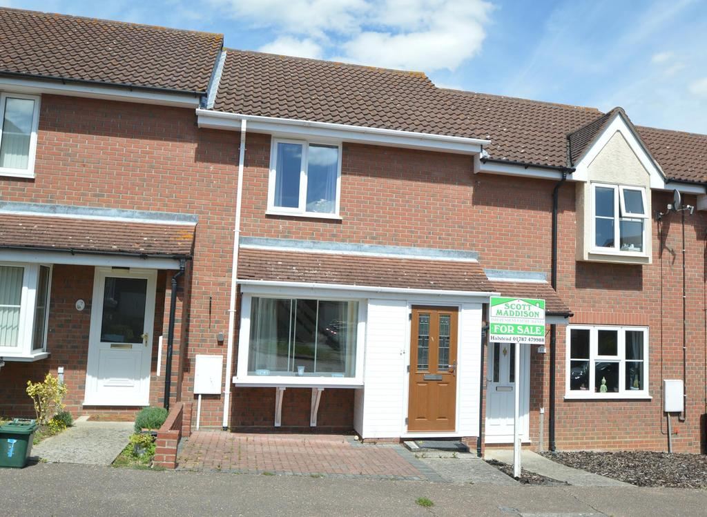 2 Bedrooms Terraced House for sale in Cooks Close, Halstead CO9