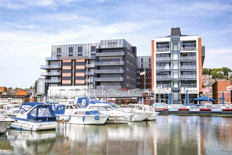 2 Bedrooms Flat for sale in Brayford Wharf North, Lincoln, LN1
