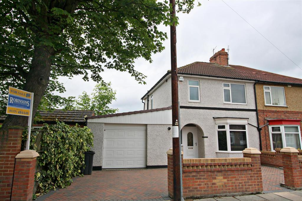 3 Bedrooms Semi Detached House for sale in The Stray, Darlington