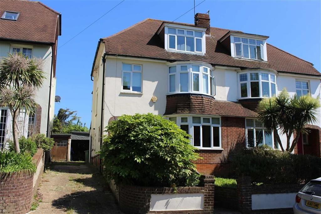 4 Bedrooms Semi Detached House for sale in Hangleton Road, Hove, East Sussex