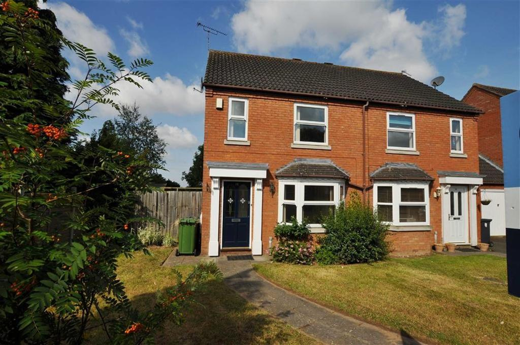 2 Bedrooms Semi Detached House for sale in Robinia Close, Leamington Spa