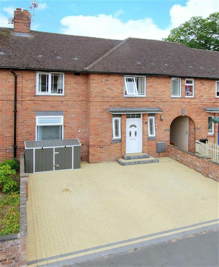 3 Bedrooms Terraced House for sale in Hill Crescent, Belle Vue, Shrewsbury, Shropshire