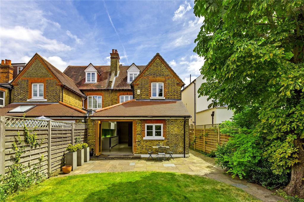 4 Bedrooms Semi Detached House for sale in Elm Road, East Sheen, London, SW14