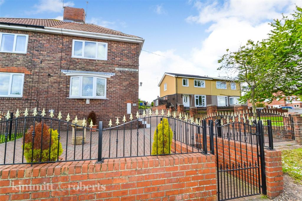 2 Bedrooms Semi Detached House for sale in Conyers Crescent, Horden, Peterlee, Co.Durham, SR8