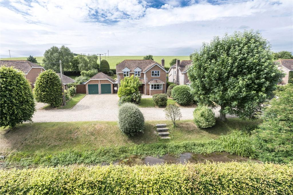 4 Bedrooms Detached House for sale in West Street, Winterborne Stickland, Winterborne Stickland, Dorset
