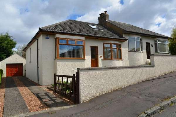 3 Bedrooms Semi Detached Bungalow for sale in 37 Eskdale Drive, Rutherglen, Glasgow, G73 3JS