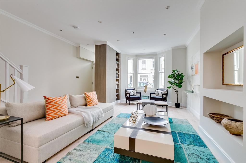 4 Bedrooms Terraced House for sale in Bronsart Road, Fulham, London