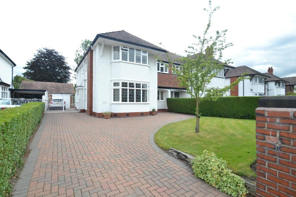 4 Bedrooms Semi Detached House for sale in Framingham Road, Sale