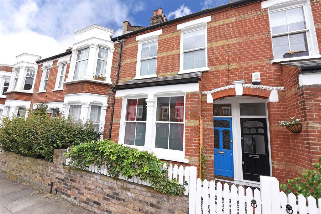 4 Bedrooms Terraced House for sale in Balvernie Grove, London, SW18