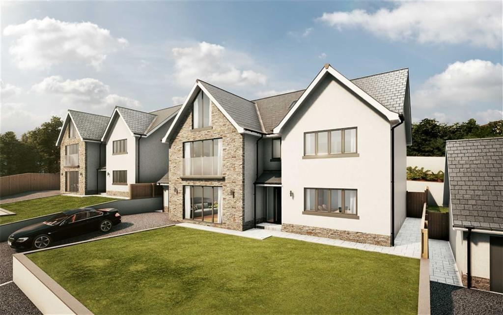 5 Bedrooms Detached House for sale in Bayview Court, Tycoch, Swansea, Swansea