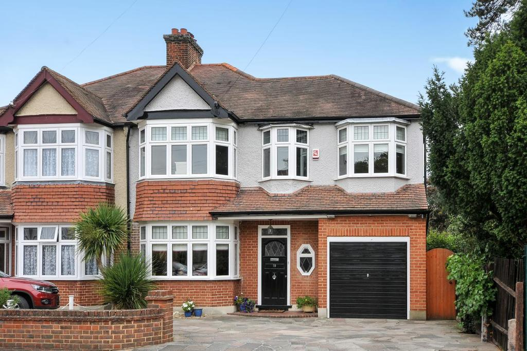 4 Bedrooms Semi Detached House for sale in Ridgeway, Bromley