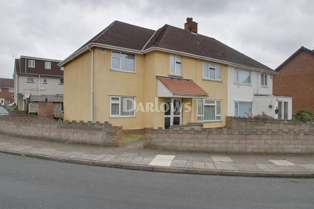 4 Bedrooms Semi Detached House for sale in Chard Avenue, Llanrumney, Cardiff