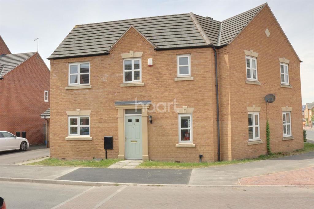 3 Bedrooms Semi Detached House for sale in Bennet Drive, Kirkby In Ashfield
