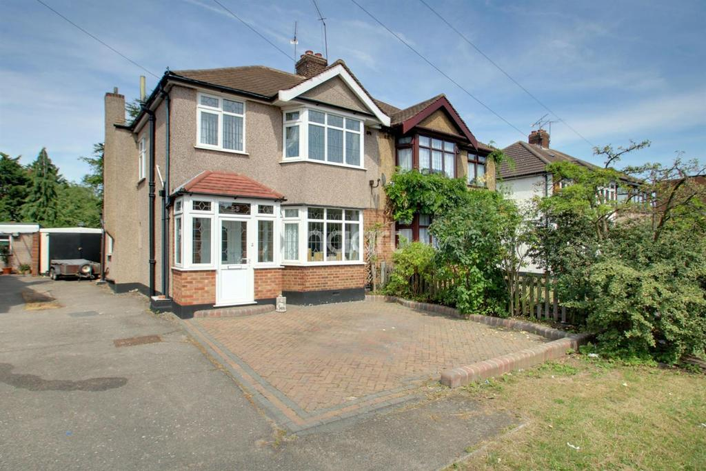 3 Bedrooms Semi Detached House for sale in Station Road, Gidea Park