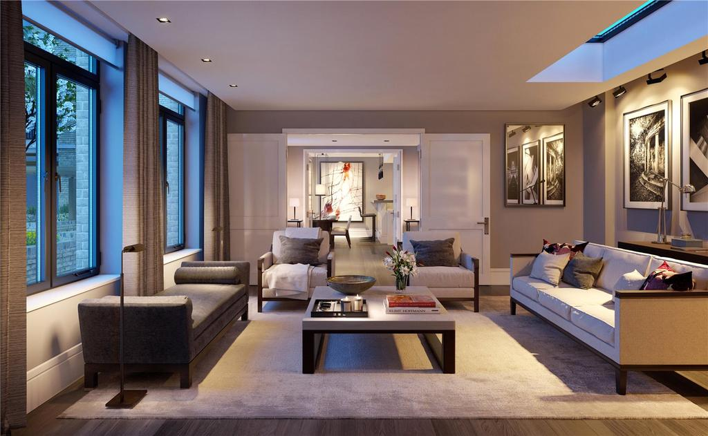 2 Bedrooms House for sale in Young Street, London, W8