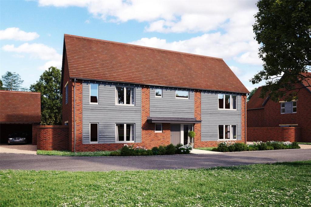 4 Bedrooms Detached House for sale in The Orchard, West Hanney, Wantage, Oxfordshire, OX12