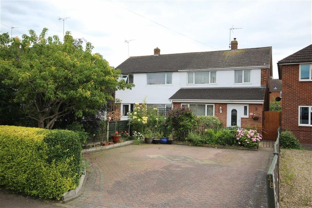 3 Bedrooms Semi Detached House for sale in Westfield Avenue, Northway, Tewkesbury, Gloucestershire