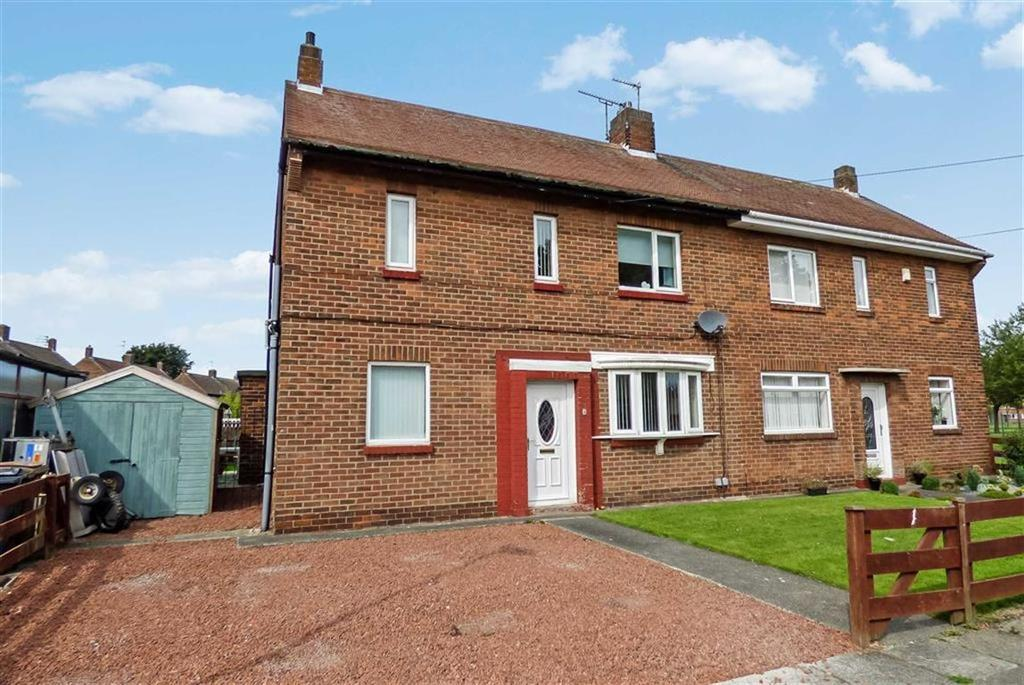 3 Bedrooms Semi Detached House for sale in Baytree Gardens, Whitley Bay, Tyne Wear