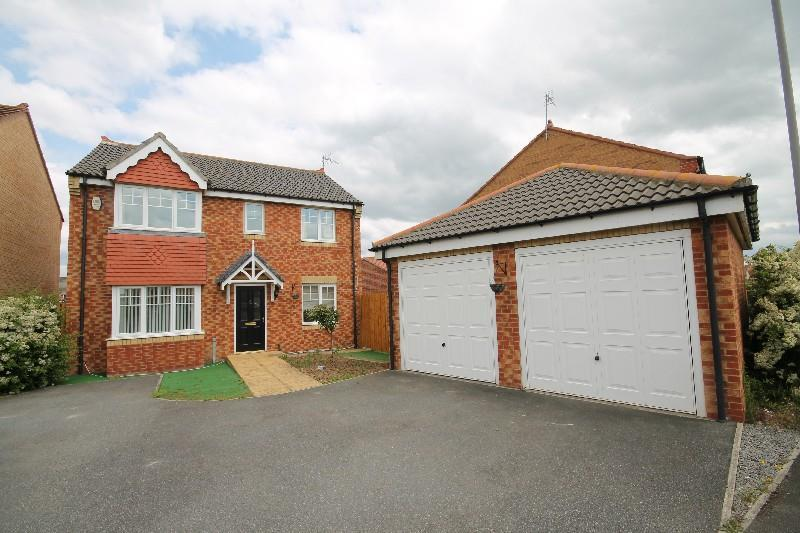 4 Bedrooms Detached House for sale in Hillbrook Crescent Ingleby Barwick, Stockton On Tees