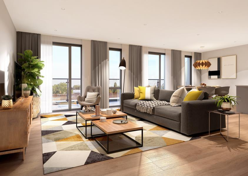 1 Bedroom Apartment Flat for sale in 6 The Treasury Apartments, E16